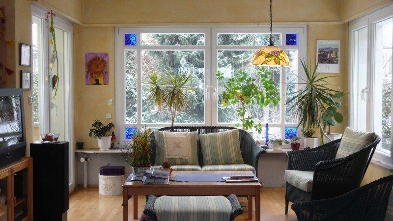 Fenster Mit Glasteilenden Sprossen